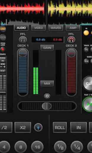 DJ Controller Mixer 1
