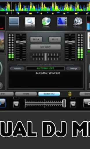 DJ Music Mixer Player 1