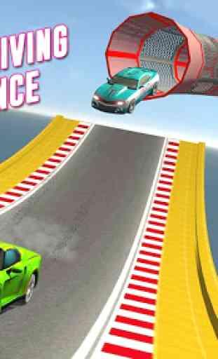 GT Racing Stunts: Tuner Car Driving 4