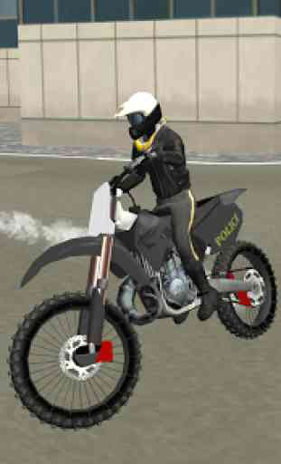 Police Motorbike City Driving 1