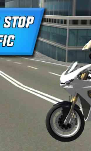 Police Motorbike City Driving 2