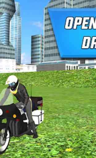 Police Motorbike City Driving 3
