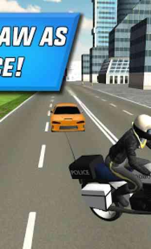 Police Motorbike City Driving 4