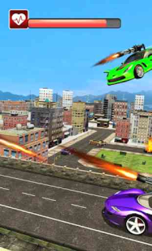 Real Flying Car Transformation Robot Simulator 1