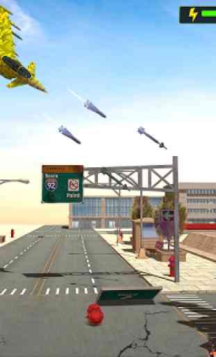 US Army Jet Robot Transforming Wars 2