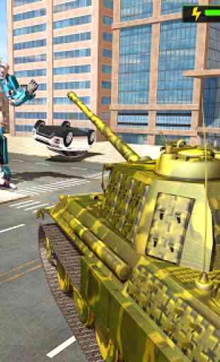 US Army Jet Robot Transforming Wars 3