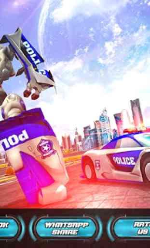 Vingança do carro dos robôs da polícia dos EUA 1