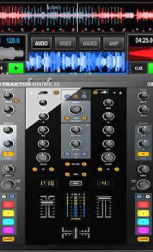 Virtual Music mixer DJ 2