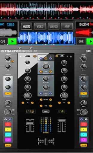 Virtual Music mixer DJ 3
