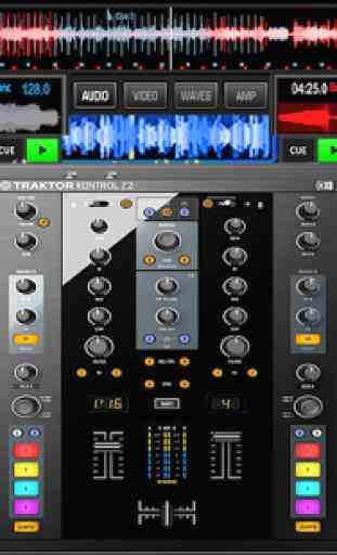 Virtual Music mixer DJ 4