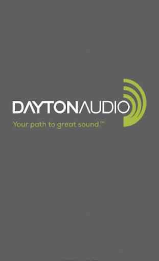 Dayton Audio DSP Control 1