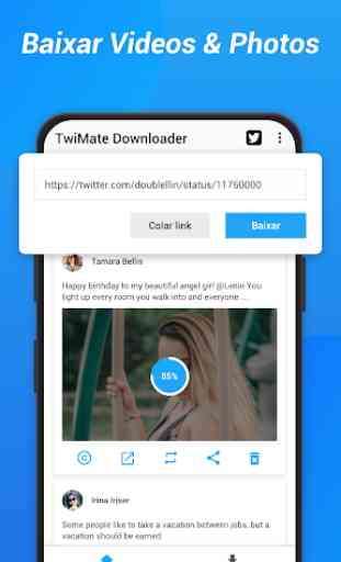 Download Twitter Videos - Baixar Twitter Vídeo GIF 1
