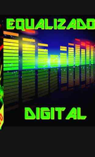 Equalizador Gráfico Digital Alta qualidade de Som 2