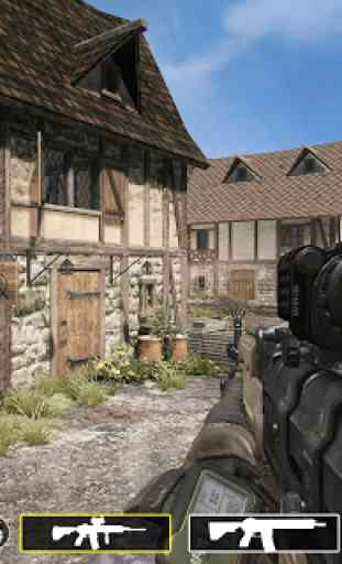 Free FPS Survival Battleground Commando Battle 2