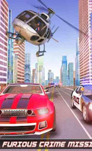 herói corda robô voador - cidade vegas crime 2
