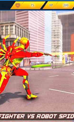 herói corda robô voador - cidade vegas crime 3