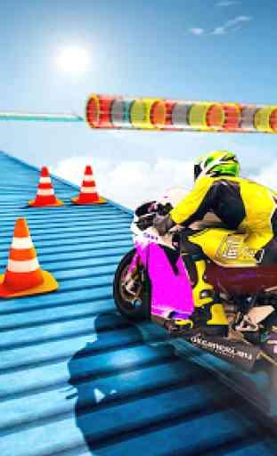 Jogos de mega rampa Impossible Tracks Stunt Bike 1