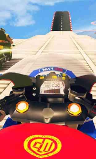 Jogos de mega rampa Impossible Tracks Stunt Bike 2