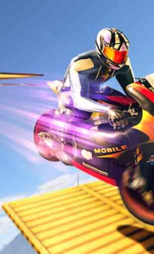 Jogos de mega rampa Impossible Tracks Stunt Bike 3