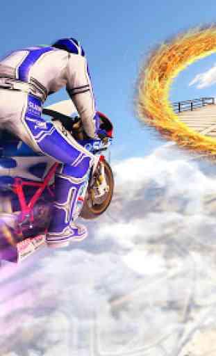 Jogos de mega rampa Impossible Tracks Stunt Bike 4