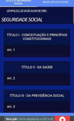 Lei da Seguridade social 2