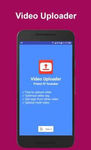 Video Uploader For Youtube 1