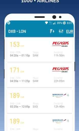 App de reserva de bilhetes de voo barato 2