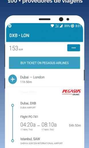 App de reserva de bilhetes de voo barato 3