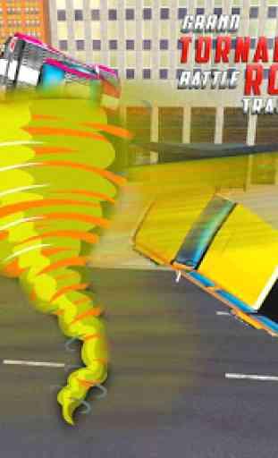 US Robot Car Transform 3D : Grand Tornado Robot 4
