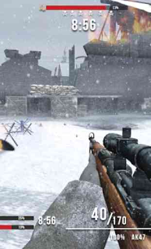 World War Last Sniper Hero: Sniper Shooting Games 3