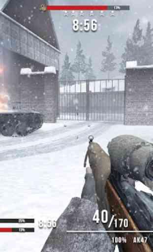 World War Last Sniper Hero: Sniper Shooting Games 4