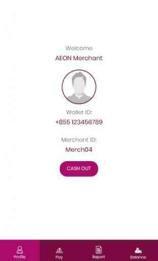 AEON Wallet Agent/Merchant 2