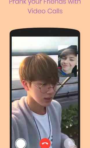 Bts video call - Fake facetime blackpink and bts 4