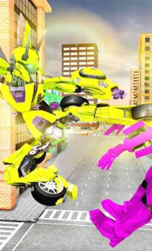Carro de vôo transformação robô guerras carro s 2