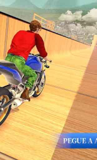 Mega moto rampas impossíveis acrobacias 3