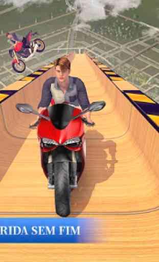 Mega moto rampas impossíveis acrobacias 4