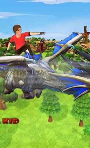 Real Dragons Training -  Kid Dragon Simulator 1