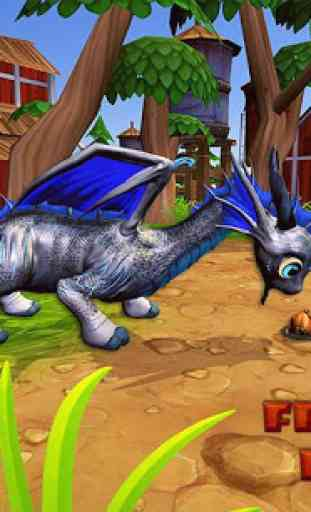 Real Dragons Training -  Kid Dragon Simulator 3