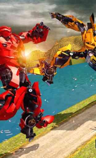 US Robot Transform Car: Jogos de Transporte Robot 2