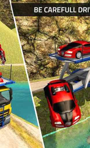 US Robot Transform Car: Jogos de Transporte Robot 3