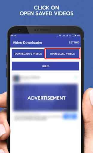 Video Downloader for Facebook -FB Video Downloader 3