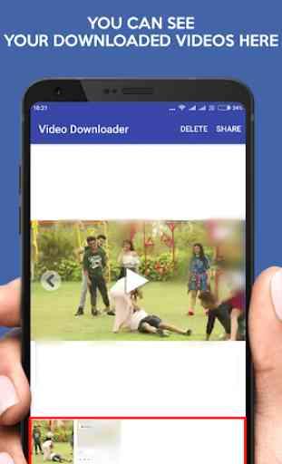 Video Downloader for Facebook -FB Video Downloader 4