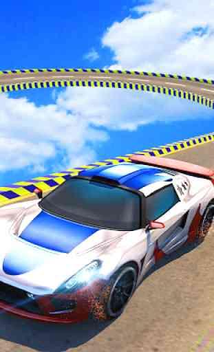 Condução extrema do carro da cidade: Acrobacias 3