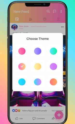 Mini for Social Network - Themes, emojis, funny 1