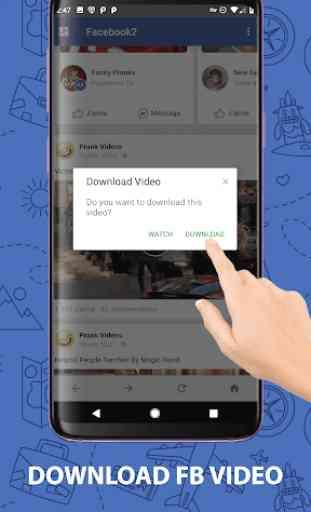 Multi FB: Conta múltipla e Video Downloader 4