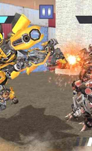 Former Robot Car War Combat 3D 1