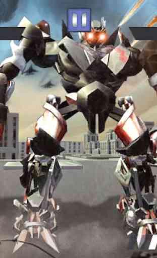 Former Robot Car War Combat 3D 2