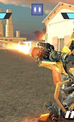 Former Robot Car War Combat 3D 3