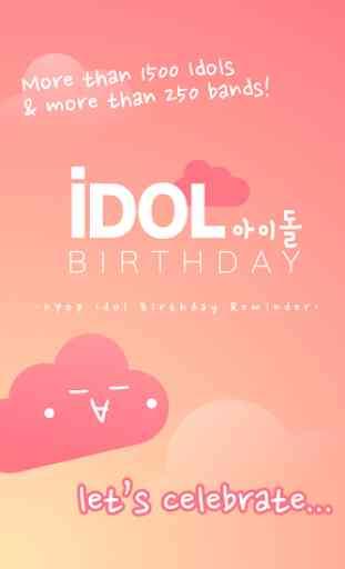 Kpop Idol Birthday Reminder 1