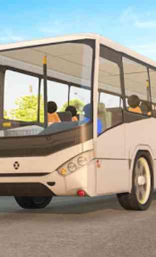 Transporte Stickman Prisioneiro Ônibus Dirigindo 3